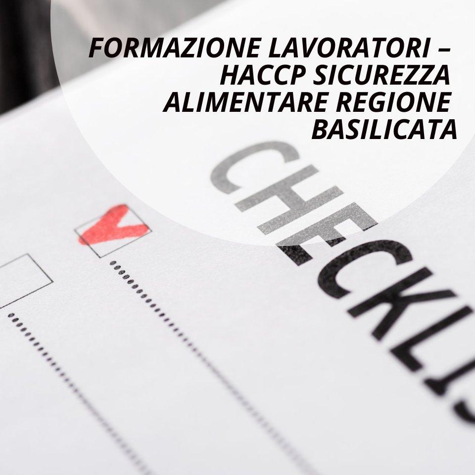 Haccp regione Basilicata