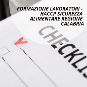 Haccp regione Calabria