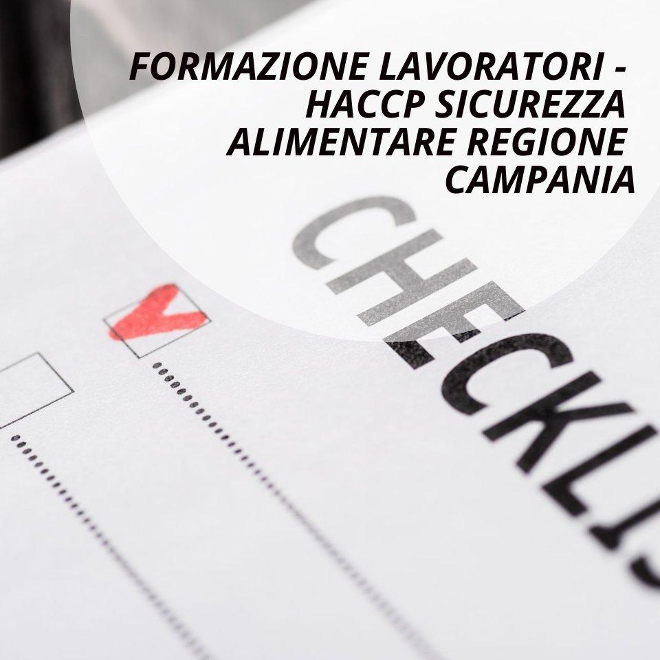 Haccp regione Campania