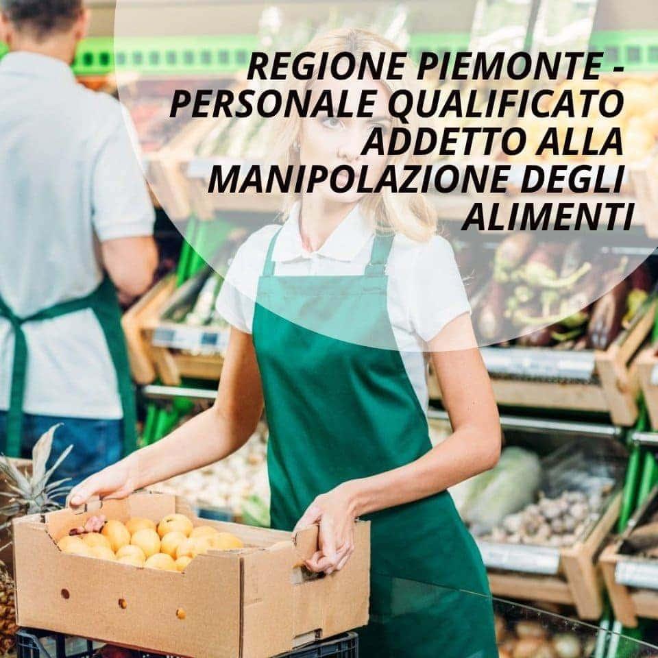 Personale qualificato manipolazione alimenti corso
