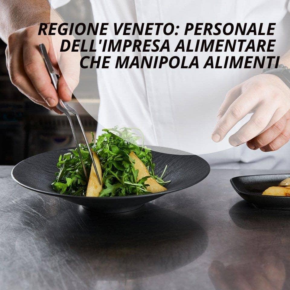 Personale impresa alimentare manipolazione alimenti